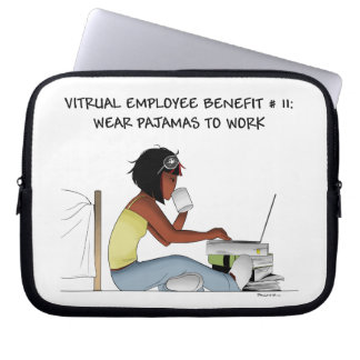 Laptop case for virtual workers laptop computer sleeves