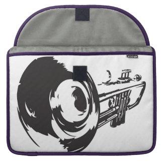 Laptop Case with Trumpet Design