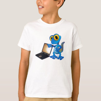 laptop lizard t-shirt