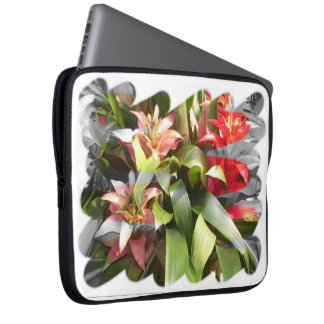 Laptop Sleeve - Bromeliads Twist