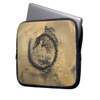Laptop Sleeve, Fossil Dinosaur Laptop Sleeve