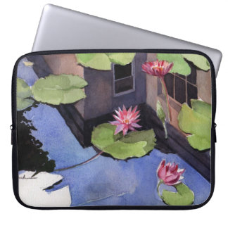 Laptop sleeve, Lilly Pads