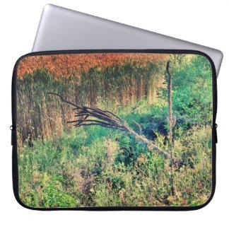 Laptop Sleeve Lowcountry Wheat Field