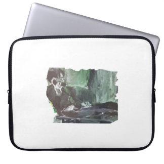 Laptop Sleeve /  Man at his Desk