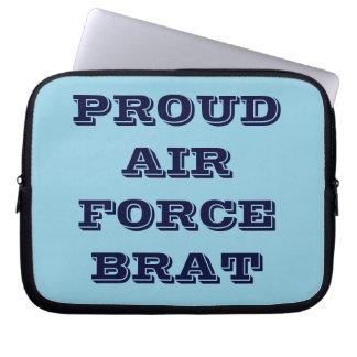 Laptop Sleeve Proud Air Force Brat