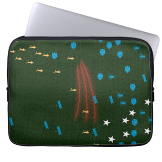 Laptop Sleeve - Run in the forest theme