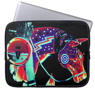 "Laptop Sleeve with ""Painted Pony"" Design"