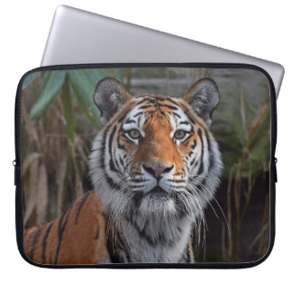 Laptop Sleeve with print of cute tiger
