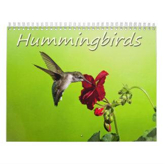 Lara Ellis Photography Hummingbirds Wall Calendars