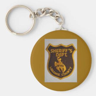 Laramie County Sheriff's Dept Keychain