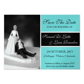 Lara's Save the Date Cards 11 Cm X 16 Cm Invitation Card