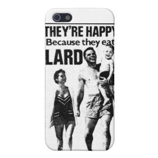 Lard Advertisement iPhone Case iPhone 5 Cover