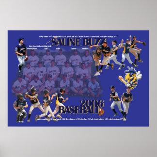 Large 2006 Saline Buzz Poster