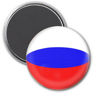 Large 3 inch magnet - Russia Russian flag