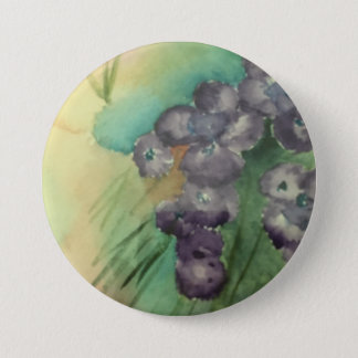 """Large 3"""" Round Button w/painting"""