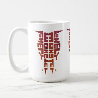 Large 444 ml White Mug with Greenleaf Totem logo