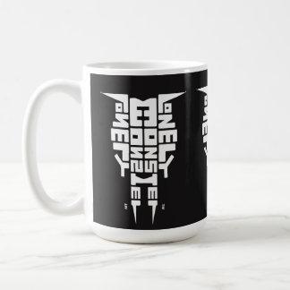 Large 444 ml White Mug with White/Black Totem logo