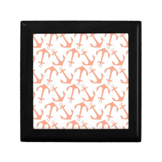 LARGE ANCHORS CORAL Theme Gift Box