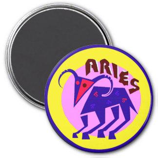 Large Aries Horoscope Sign Zodiac Magnet