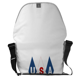 Large Bag the USA Messenger Bags