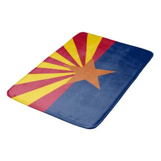 Large bath mat with flag of Arizona, USA