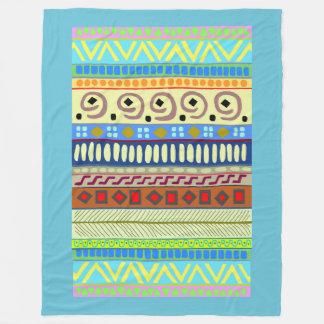 Large Beautiful Berimbau Tribal Pattern Blanket