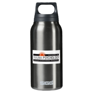 Large Black with Logo 0.3 Litre Insulated SIGG Thermos Water Bottle
