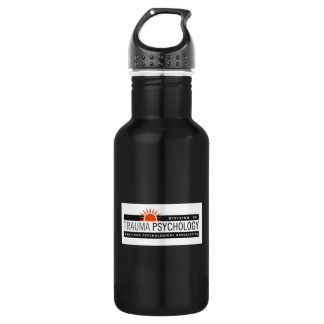 Large Black with Logo 532 Ml Water Bottle