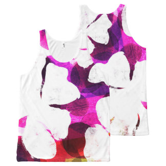 Large Bloom All-Over Print Singlet