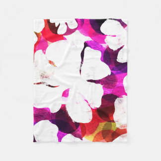 Large Bloom Fleece Blanket