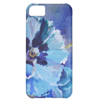 Large Blue Poppies iPhone 5C Covers