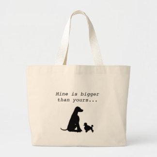 Large Breed Lover Jumbo Tote Bag