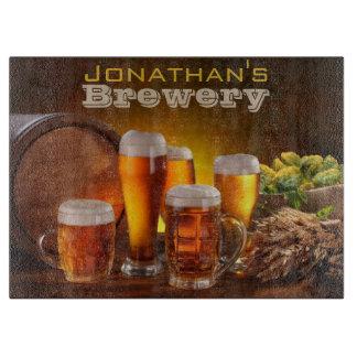 Large Brewery Cutting Board