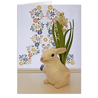 Large bunny card