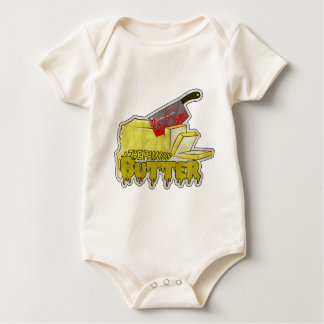 Large Butter Logo.png Baby Bodysuit