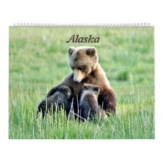 Large calender of Alaska Wall Calendar