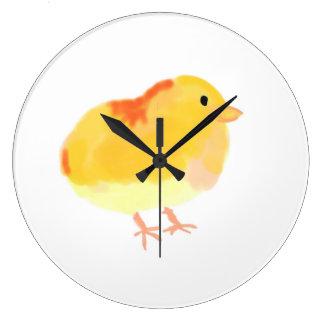 Large Chick Clock