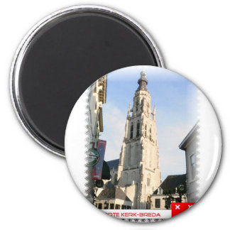 Large church, Breda, the Netherlands Magnet