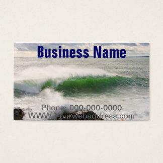 Large Crashing Waves Seascape Acadia National Park