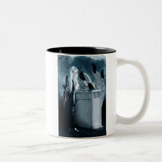 Large Crow Witch Mug