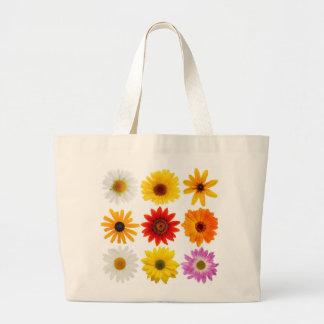 Large Daisy Tote Jumbo Tote Bag