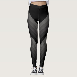 Large Diagonal Gradient Stripe Legging