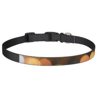 Large dog collar- Bokeh Pet Collars