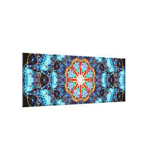 Large Energy Core Mandala Canvas Print