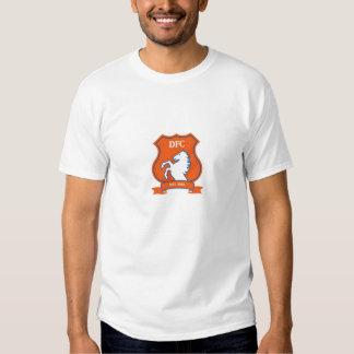 Large English Style Denver Football Logo Tee Shirts