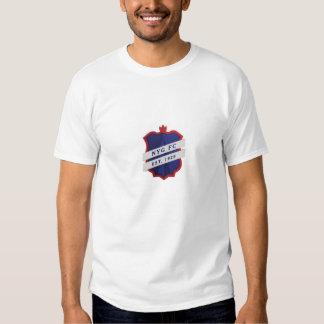 Large English Style New York Football Logo T Shirt