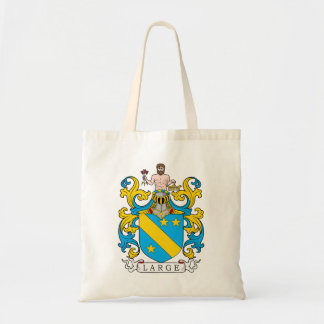 Large Family Crest Canvas Bags