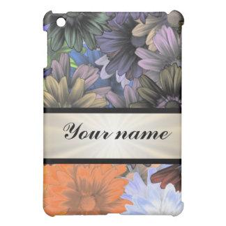 Large Flower Collage iPad Mini Covers