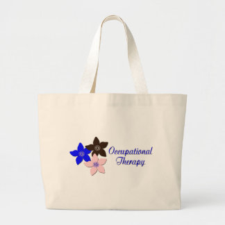 Large flower designs jumbo tote bag
