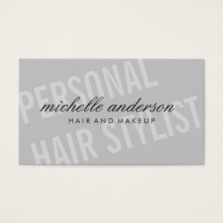 Large Font / Dynamic Business Card